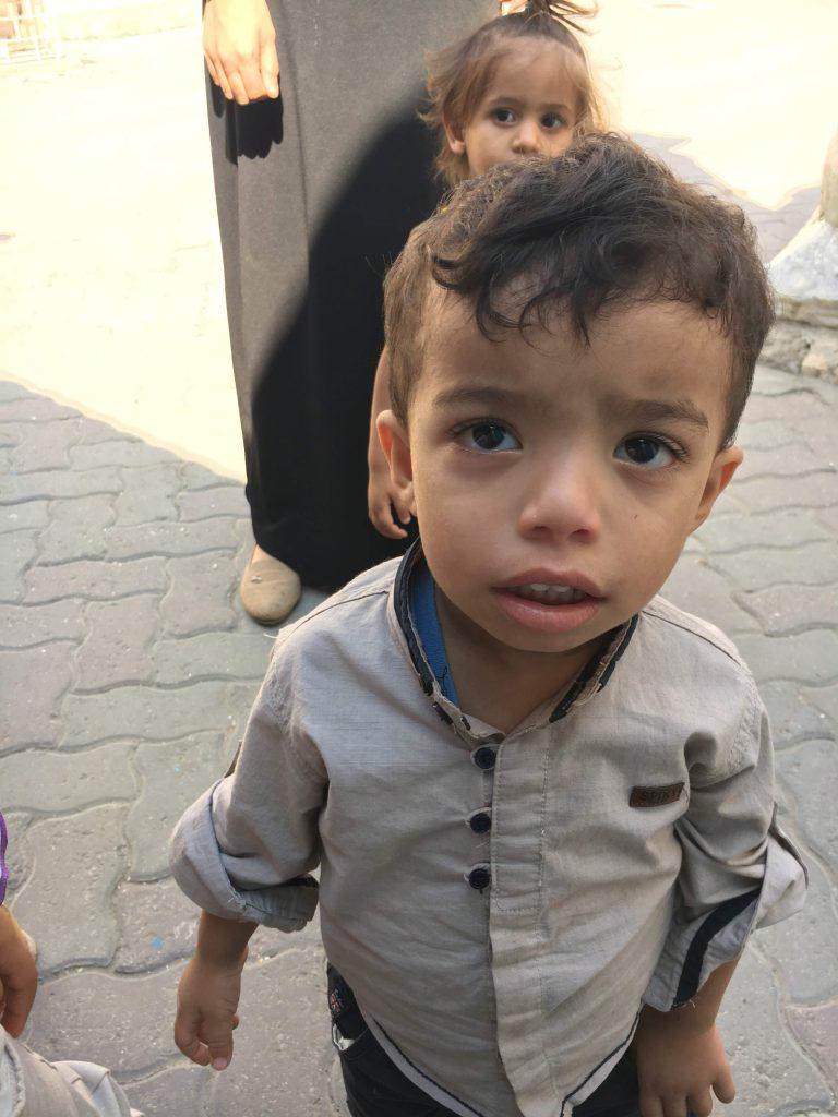 boy at Ahli clinic